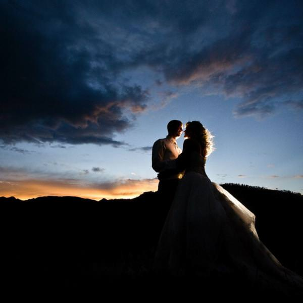Western-themed Wedding in Wetmore, Colorado