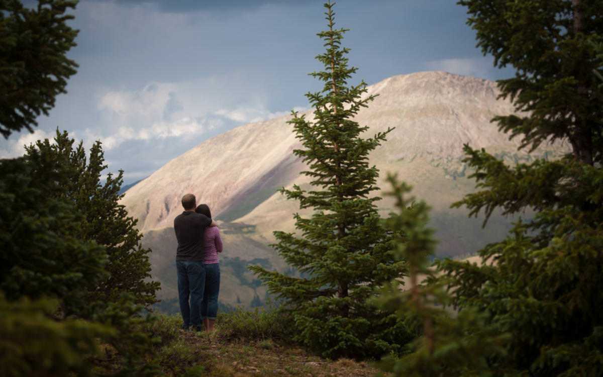 Laura and Roy's Hoosier Pass Engagement