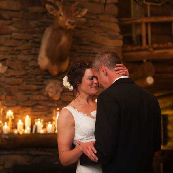 Jacqueline and Brian's Winter Wedding at Keystone Ranch