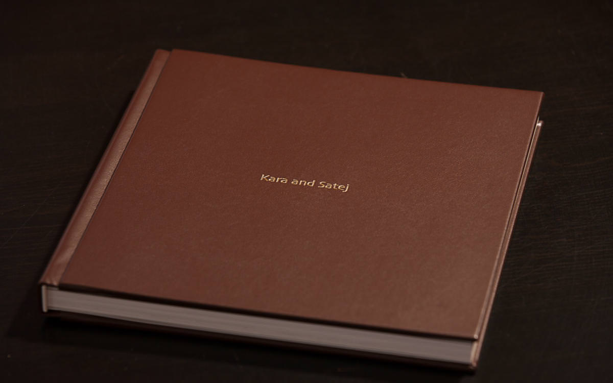 Kara and Satej's Layflat Wedding Album