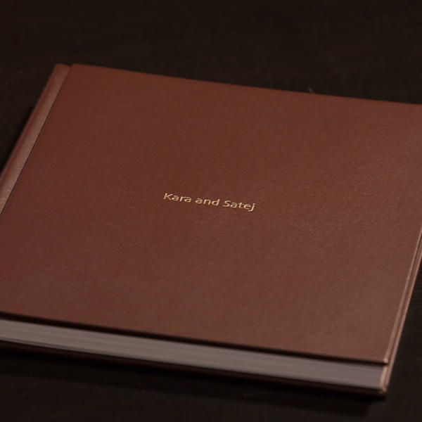 Kara and Satej's Layflat Wedding Album