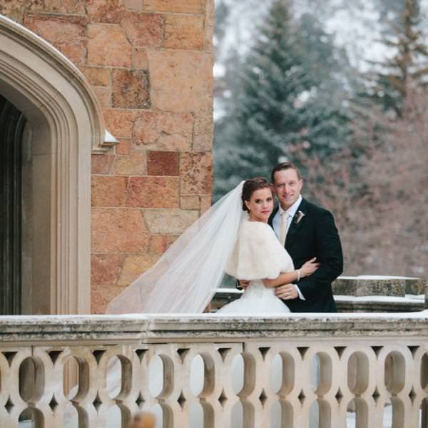 Madison and Anthony's Air Force Academy Chapel Winter Wedding
