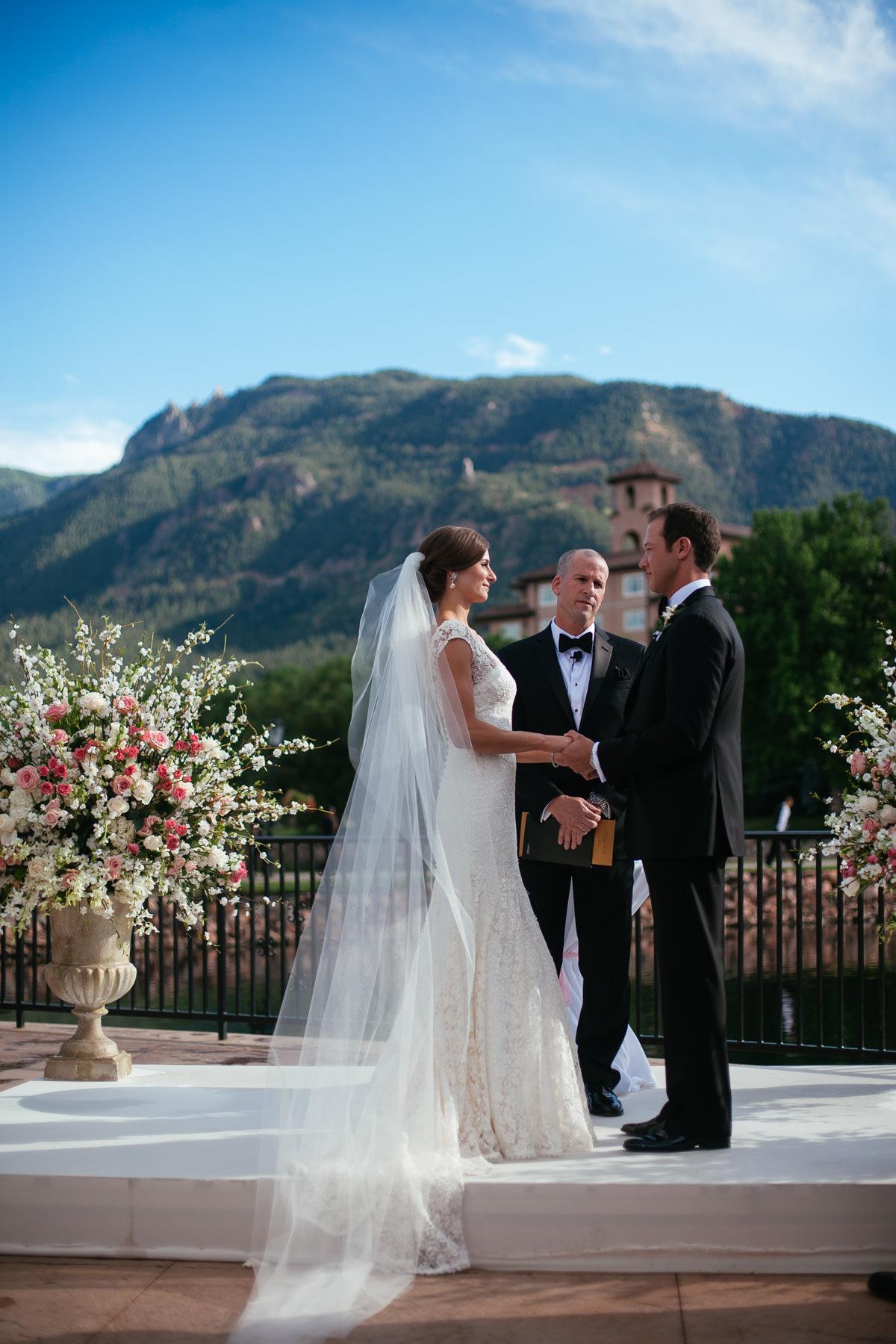 Lakeside Terrace Wedding at The Broadmoor