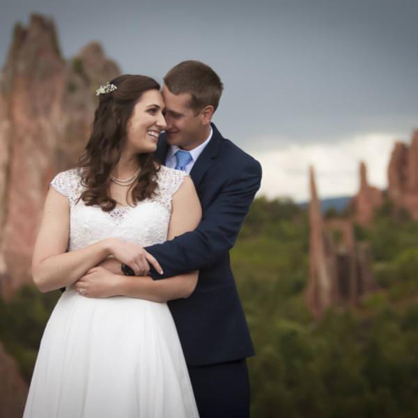 Alli and Chris' Hillside Gardens Wedding Celebration
