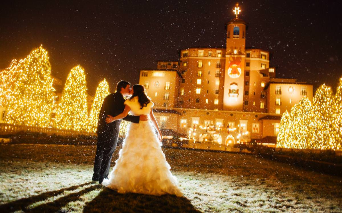 Holiday Wedding At The Broadmoor