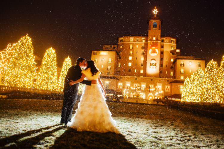 Holiday Wedding At The Broadmoor