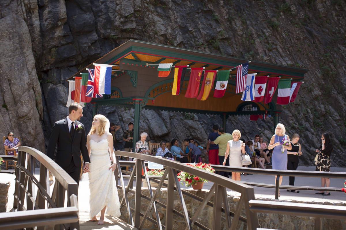 Seven Falls Wedding Celebration