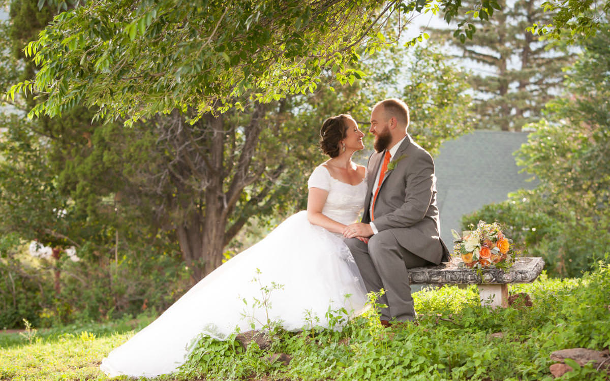Darcie and Ryan's SunMountain Center Wedding