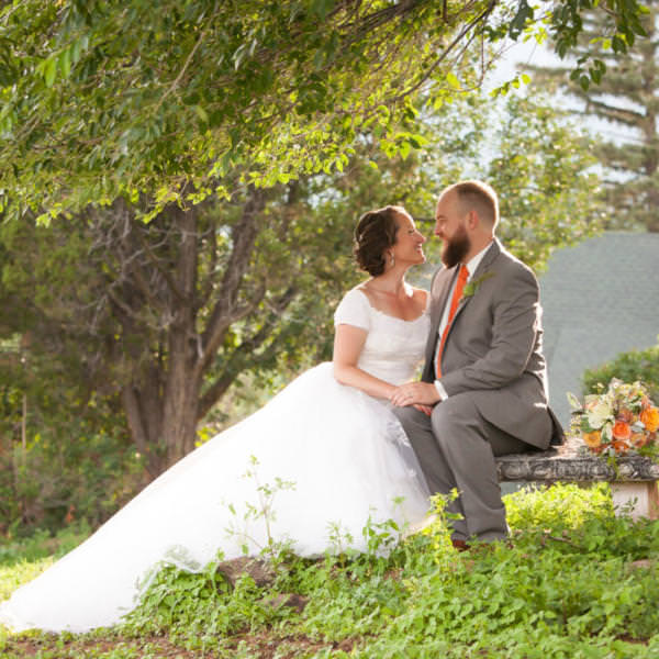 Darcie and Ryan's SunMountain Center Wedding
