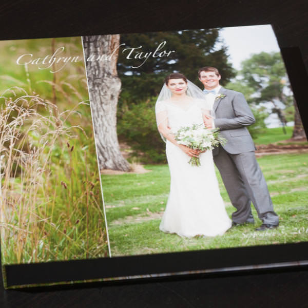 Layflat Album Wyoming Wedding