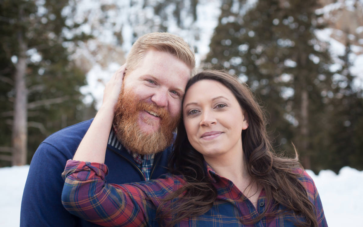 Alexandra and Colin's Pikes Peak Engagement