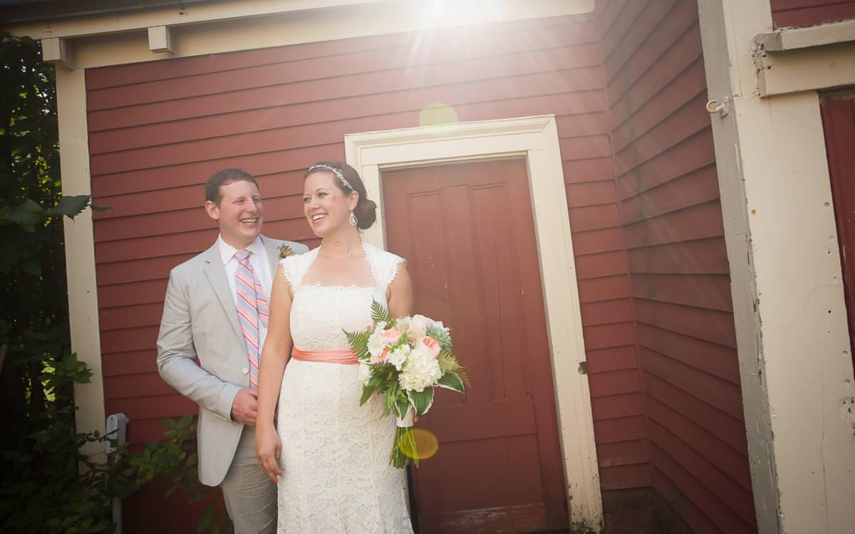 Addie and Adam's Farm Wedding Portsmouth, New Hampshire