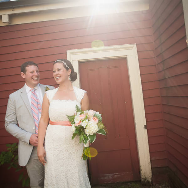 Addie and Adam's Farm Wedding Portsmouth, New Hampshire