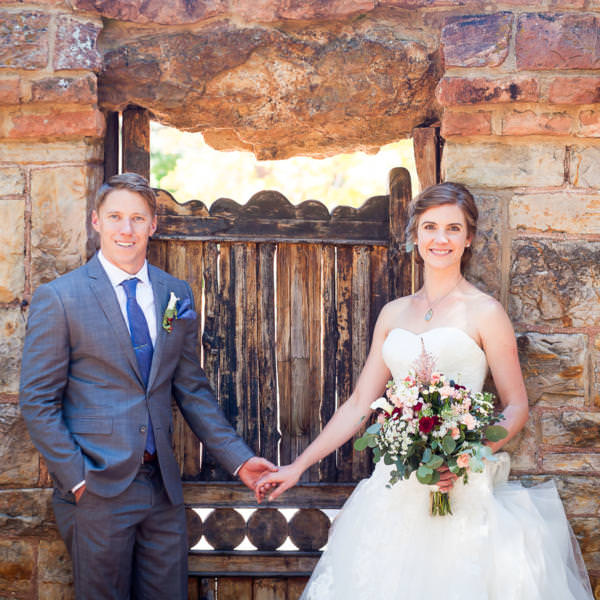 Samantha and Christopher's Glen Eyrie Castle Wedding Celebration