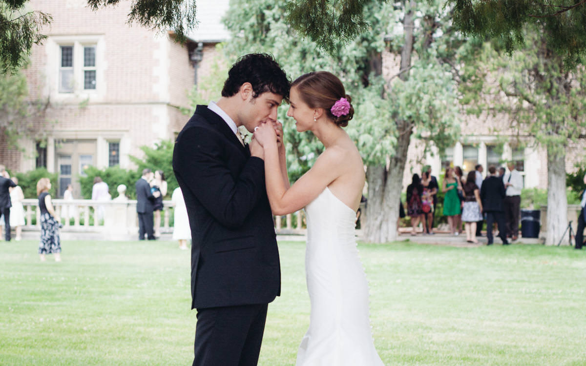 Alexandra and Adam's English Garden Wedding Colorado Springs