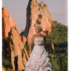 bride-wedding-dress-garden-of-the-gods-sunset