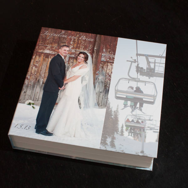 Layflat Wedding Album Keystone Ranch