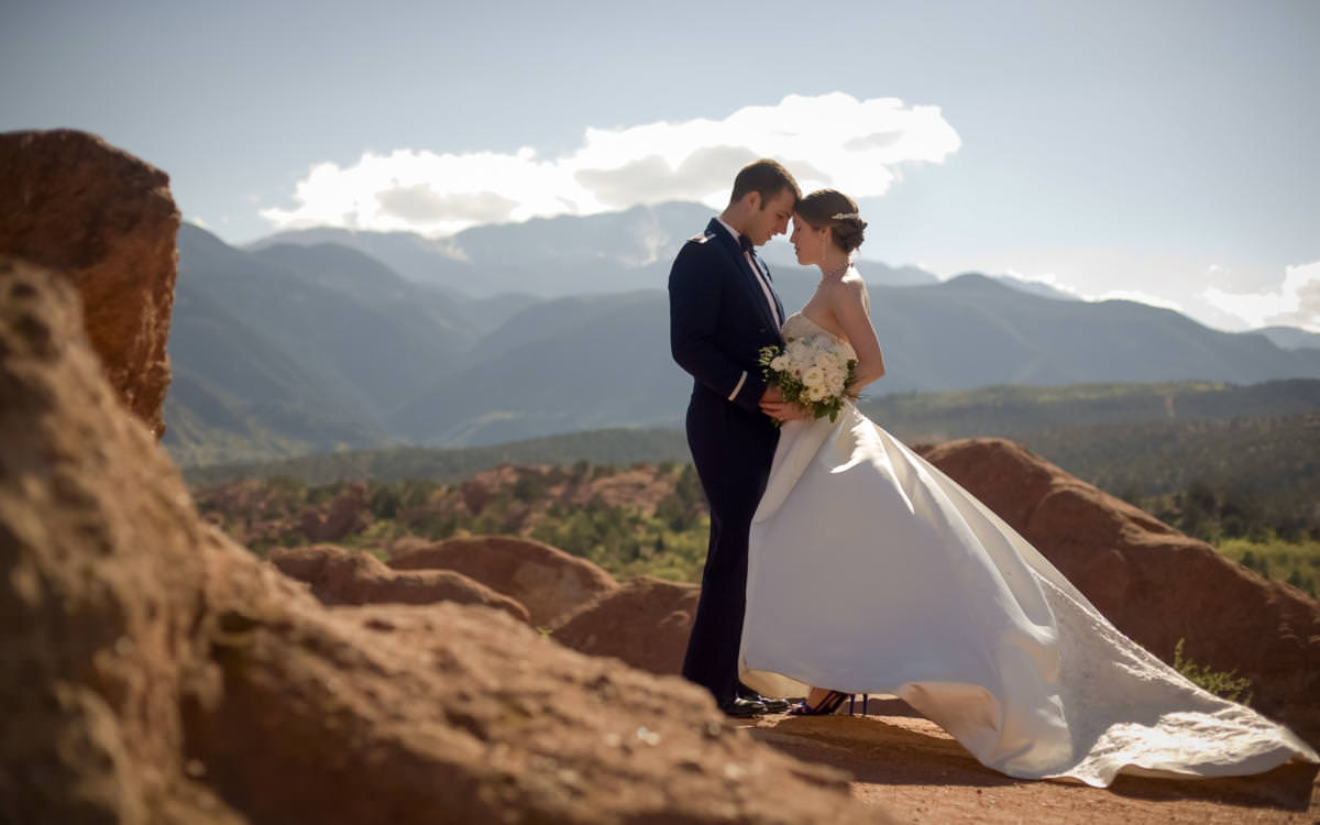 Shannon and Peter's Air Force Academy Wedding