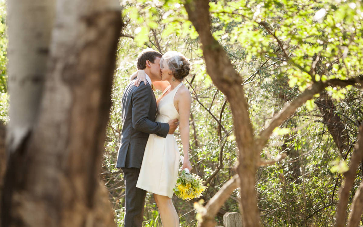 Kylee and Ben's Colorado Springs Backyard Wedding