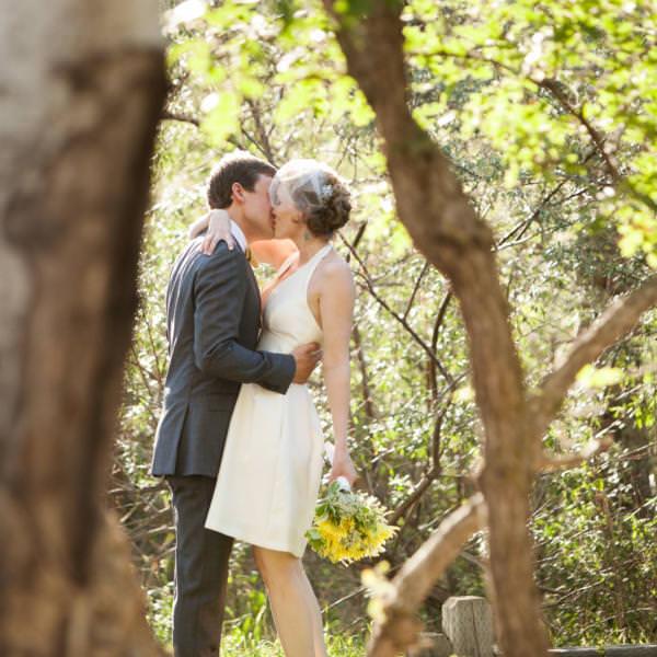 Kylee and Ben's Colorado Springs Backyard Wedding