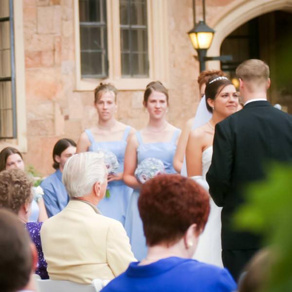 Fairy Tale Wedding at Glen Eyrie Castle
