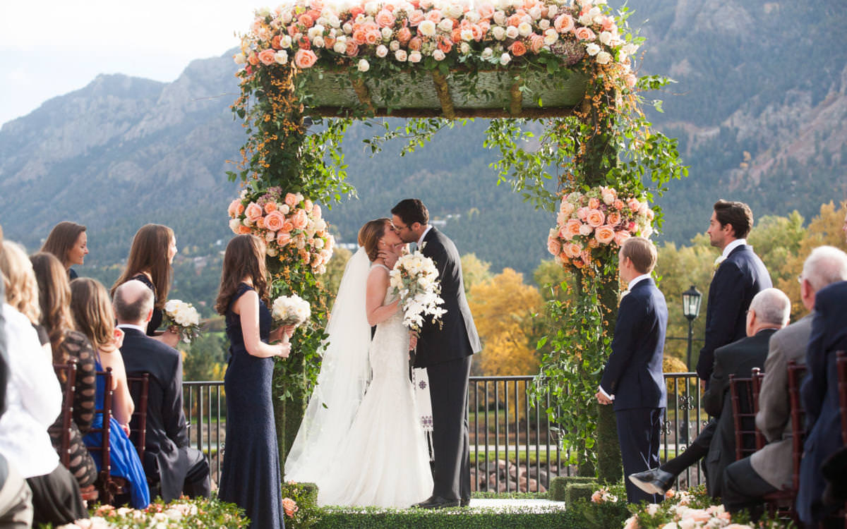 Katie and Revan's Fall Wedding at The Broadmoor
