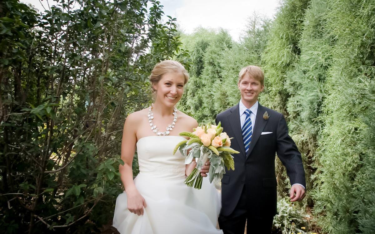 Brides Colorado Features Denver Botanic Gardens Wedding Celebration