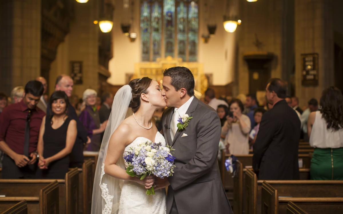 Nina and Giancarlo's Grace Episcopal Church Wedding Colorado Springs