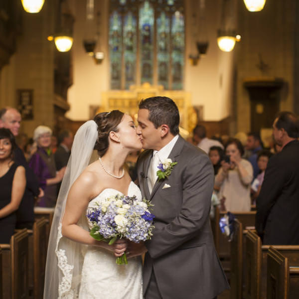 Nina and Giancarlo's Grace Episcopal Church Wedding Colorado Springs
