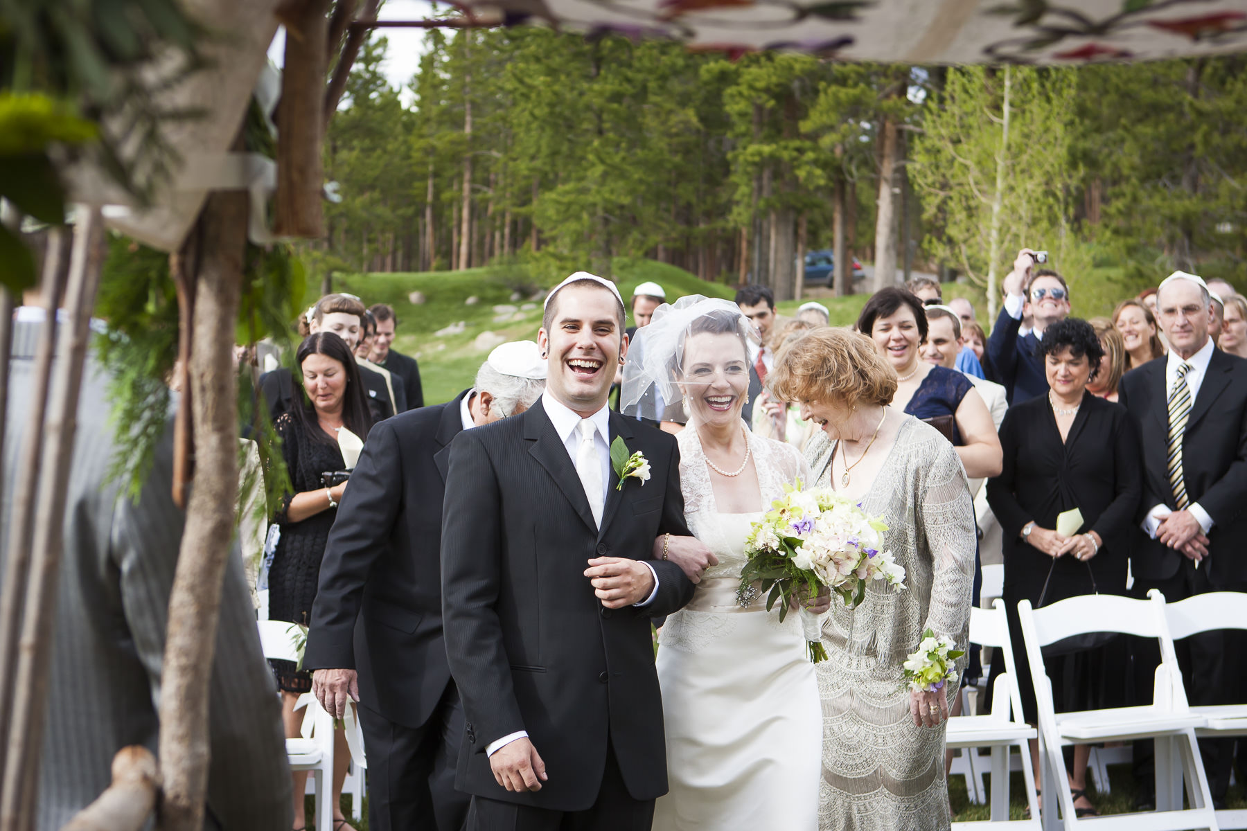 Their Ceremony Was Wonderfully Intimate And Filled With Shutterbug Wedding Guests Special Thanks To Contributing Photographer Kent Meireis