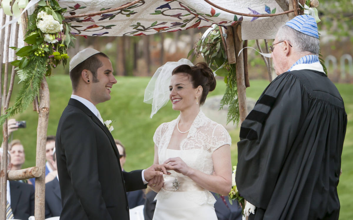 Rachel and Matt's Jewish Wedding at Keystone Resort