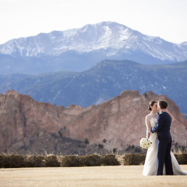 Christina and Justin's Catholic Wedding at the Air Force Academy Chapel