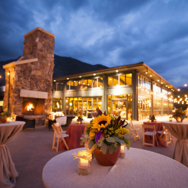 Katie and Justin's Cheyenne Lodge Rehearsal Dinner at The Broadmoor