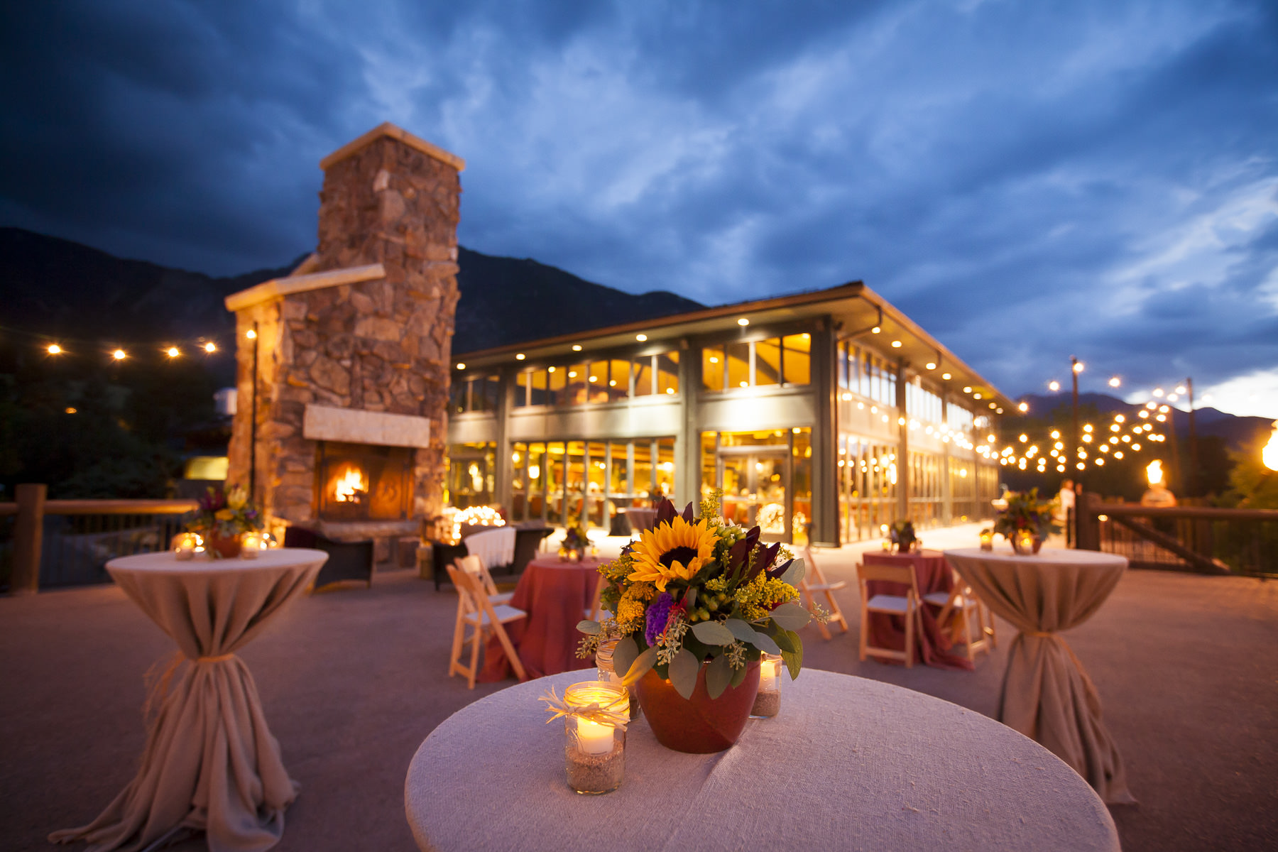 Cheyenne Lodge Rehearsal Dinner at The Broadmoor