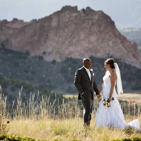 Katie and Larry's Fall Wedding at the Garden of the Gods Club