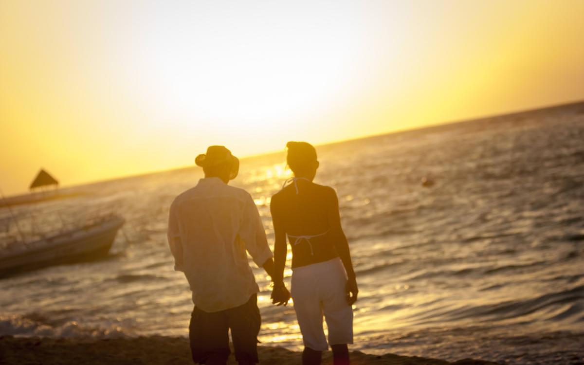 Teri and Jeff's Destination Beach Wedding Akumal, Mexico
