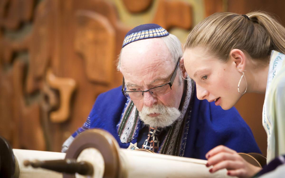 Raina's Temple Shalom Bat Mitzvah and Doolittle Hall Reception