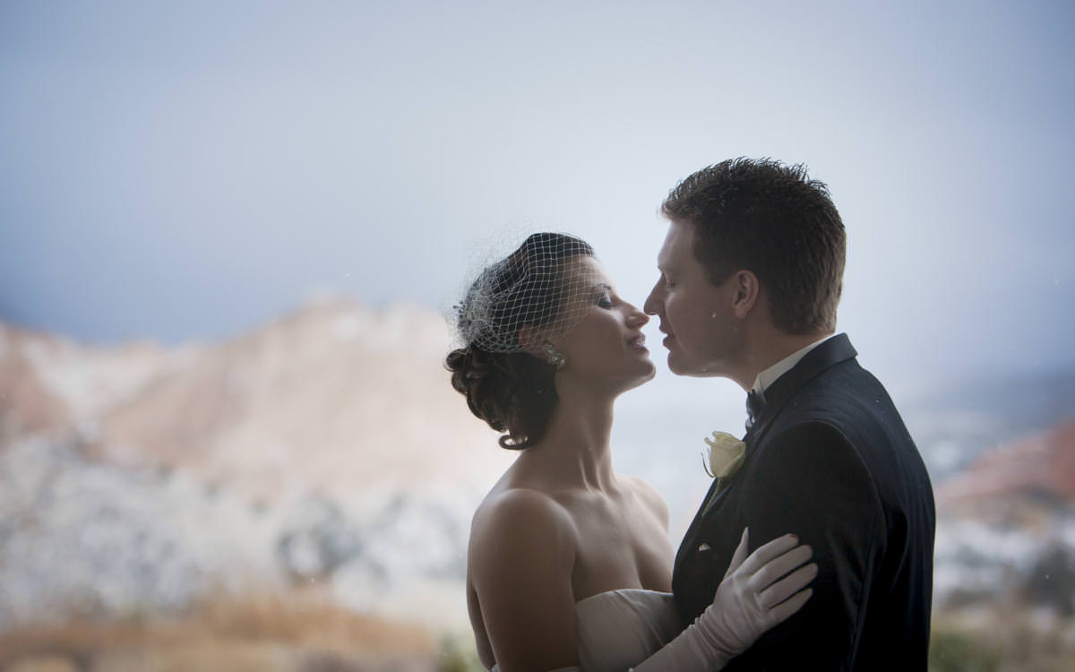 Alicia and Marc's Winter Wedding at Garden of the Gods Club