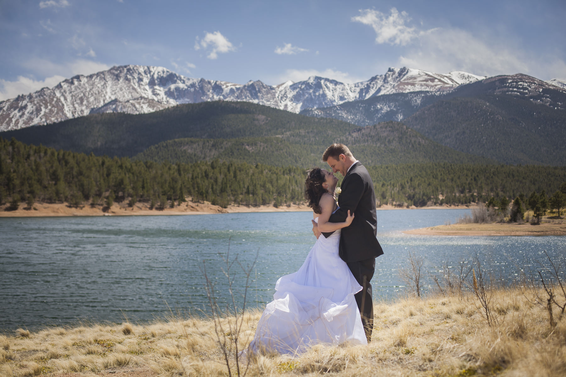Pikes Peak wedding celebration