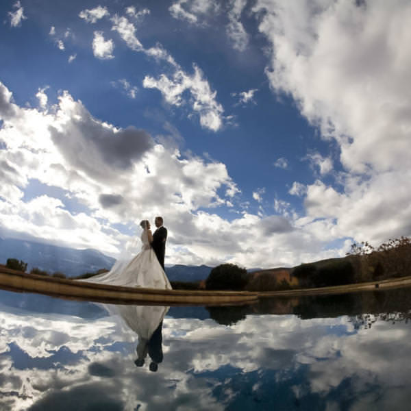 Crista and Mark's First Presbyterian Church Wedding Colorado Springs