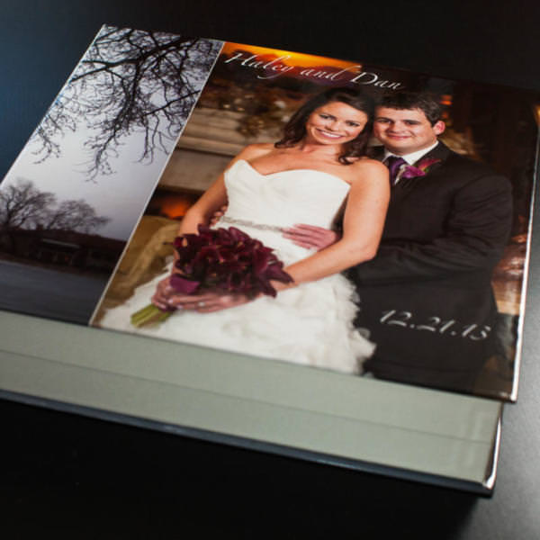 Haley and Dan's Flush Mount Wedding Book