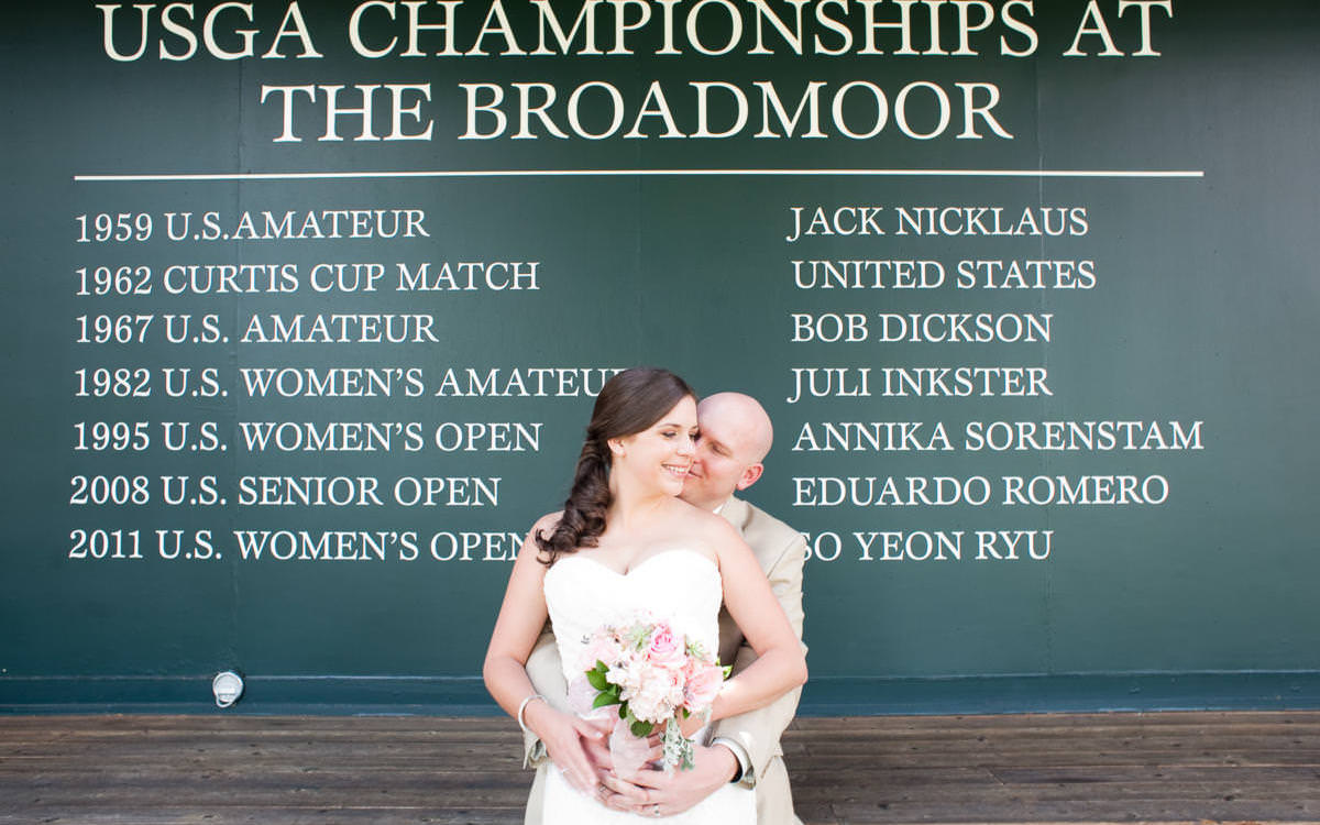 Lauren and Ben's South Terrace Wedding Celebration at The Broadmoor