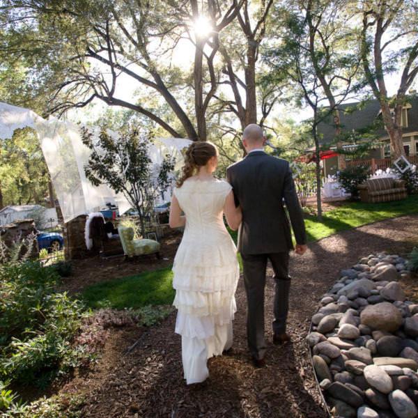 Lynn and Cy's Backyard Wedding Colorado Springs
