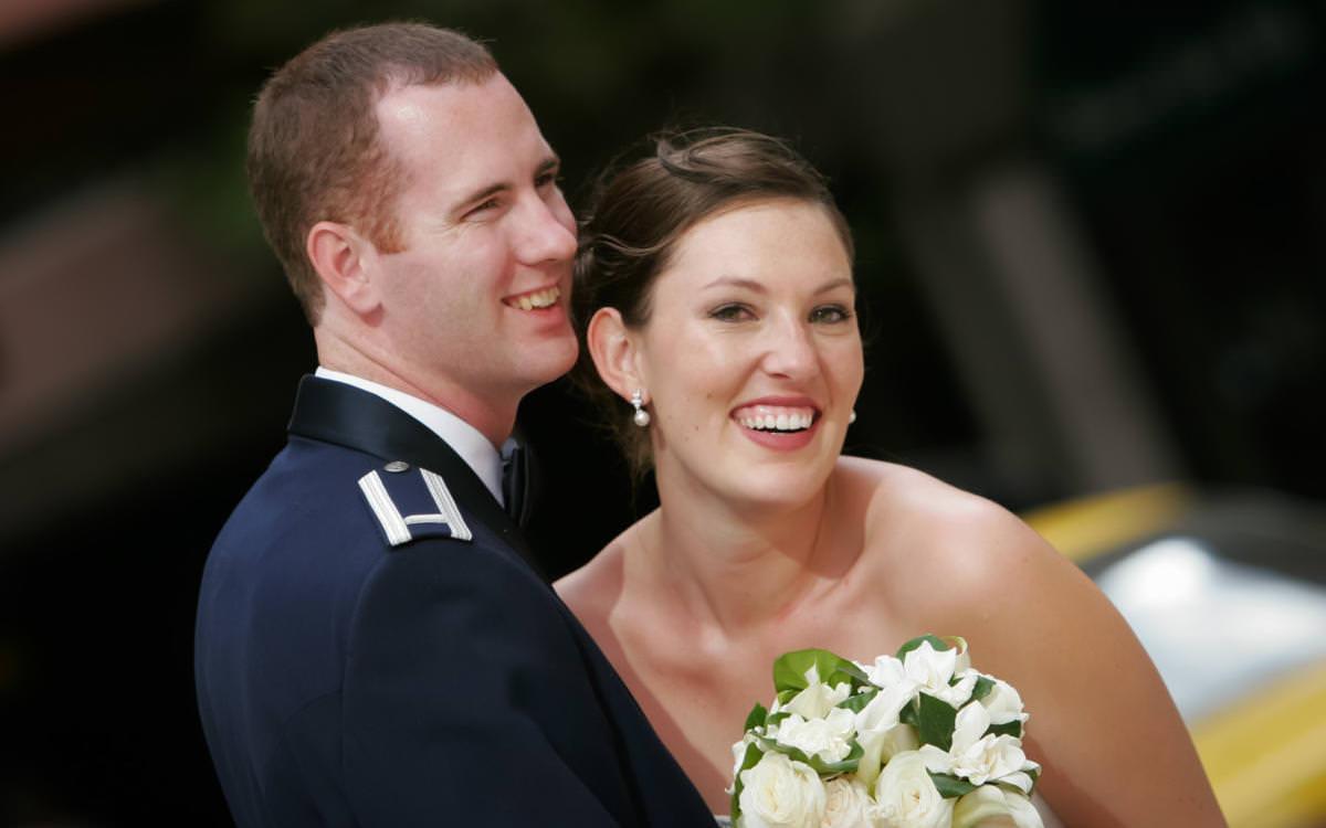 Caitlin and Brian's Air Force Academy Wedding Celebration