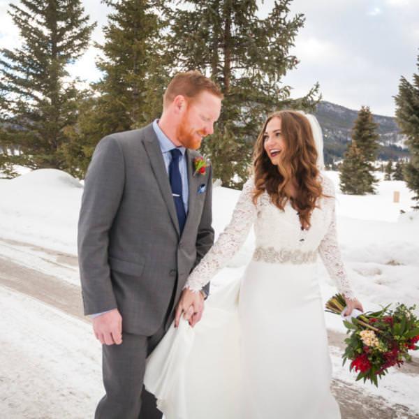 Randi and Brice's Keystone Ranch Winter Wedding Celebration