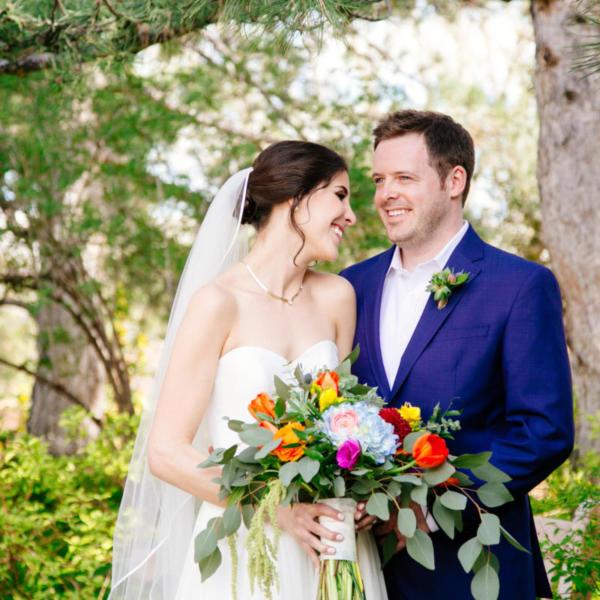 Julie and Russell's Denver Botanic Gardens Wedding Celebration