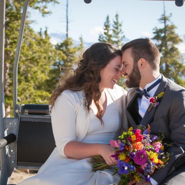 Ave and Jordan's Alpenglow Stuben Wedding