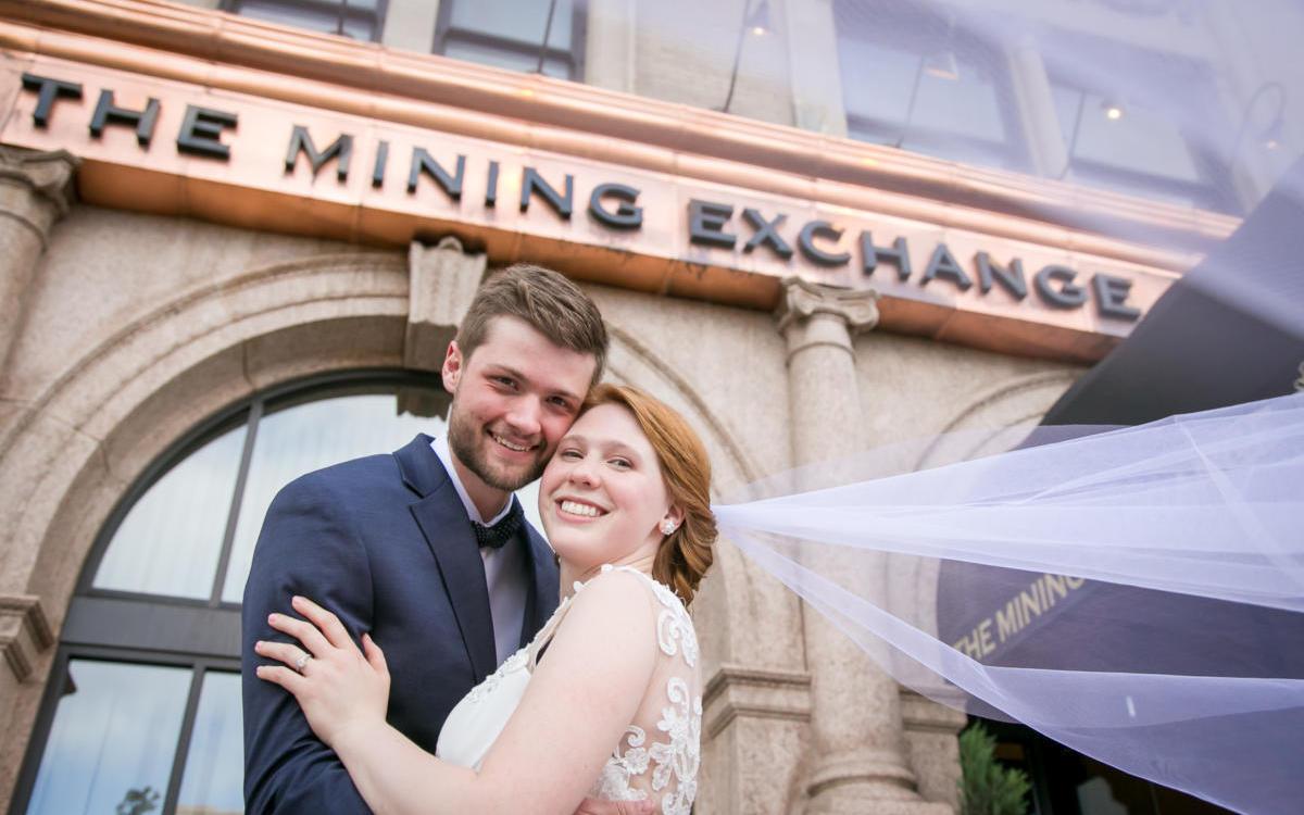 Kaela and Ian's Mining Exchange Wedding