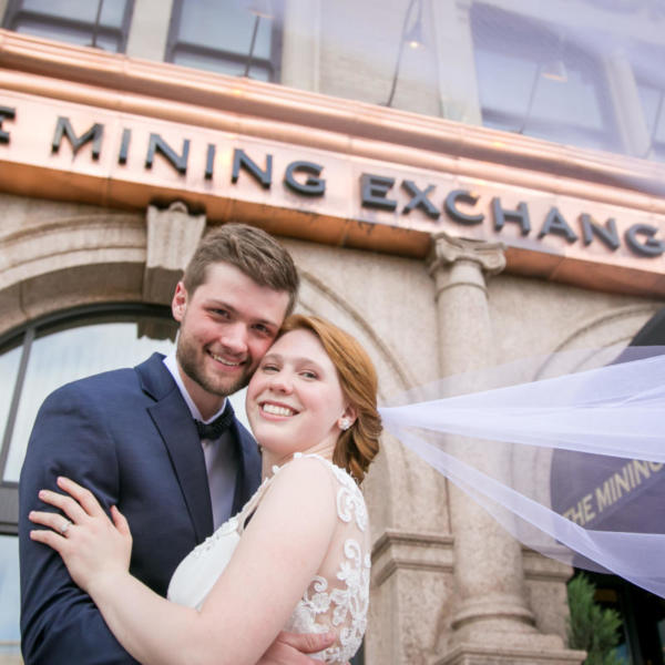 Kaela and Ian's Mining Exchange Wedding