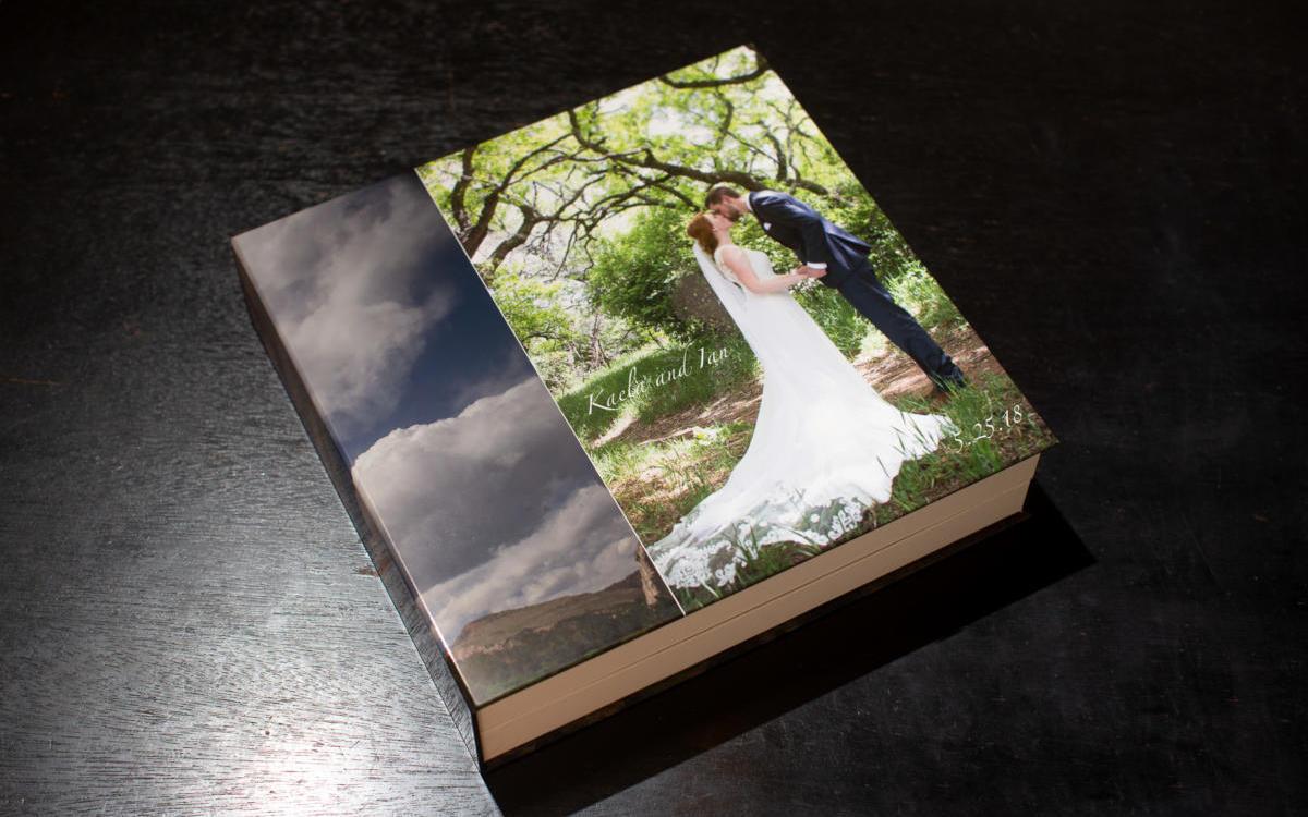 Kaela and Ian's Flush Mount Wedding Book